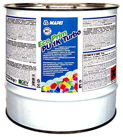 Грунтовка Mapei Eco Prim Pu 1K Turbo, 10 кг