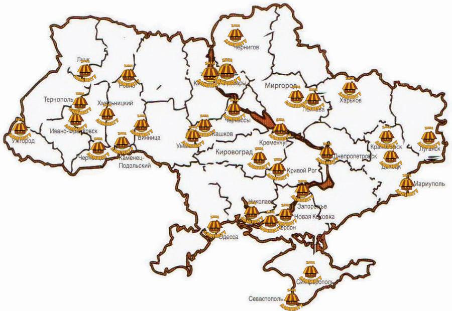 купить ламинат в интернет магазине  хата ламината на карте