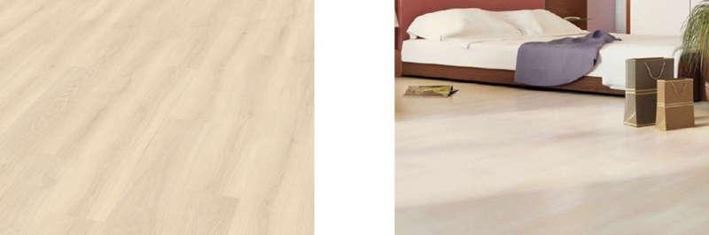 белый ламинат в интерьере