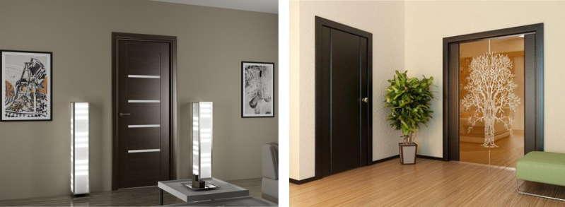 Венге цвет мебели дверей
