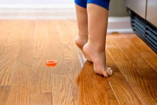 Детская: пол - каким он должен быть?