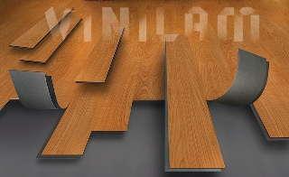 ПВХ плитка (виниловый пол)