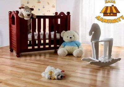 Ламинат в детскую комнату